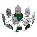 Eglo 95636 - Gyerek mennyezeti lámpa VIKI 2 1xE27/60W/230V zöld