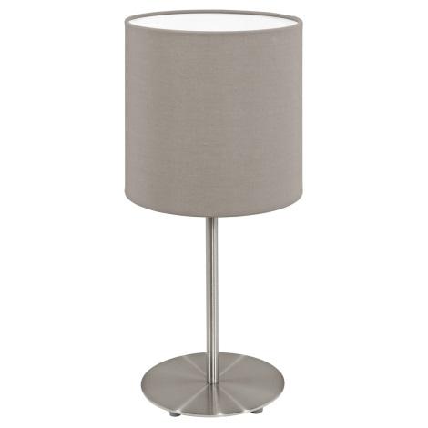 Eglo 95726- Asztali lámpa PASTERI 1xE14/40W/230V