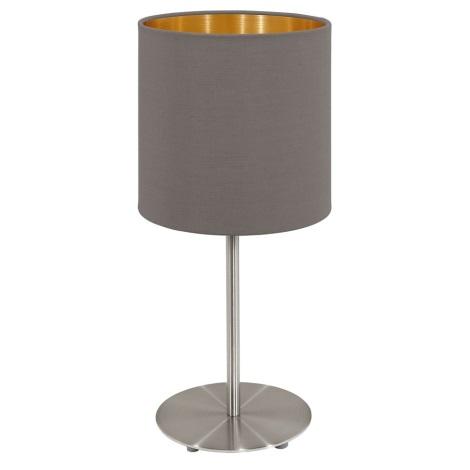 Eglo 95727- Asztali lámpa PASTERI 1xE14/40W/230V