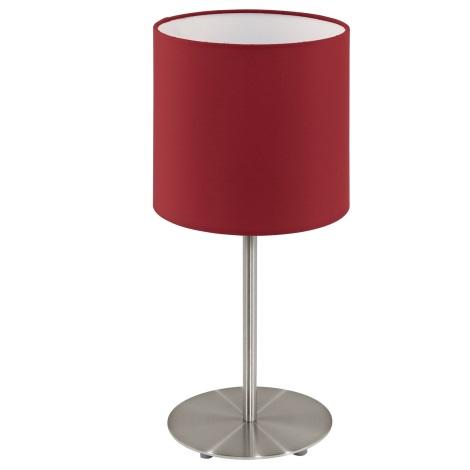 Eglo 95731- Asztali lámpa PASTERI 1xE14/40W/230V