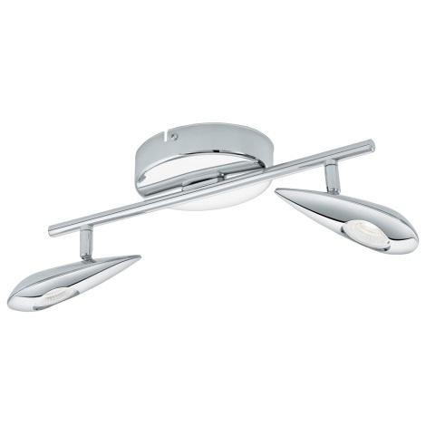 Eglo 95751 - LED Spotlámpa  PEDREGAL 2xLED/3,3W/230V