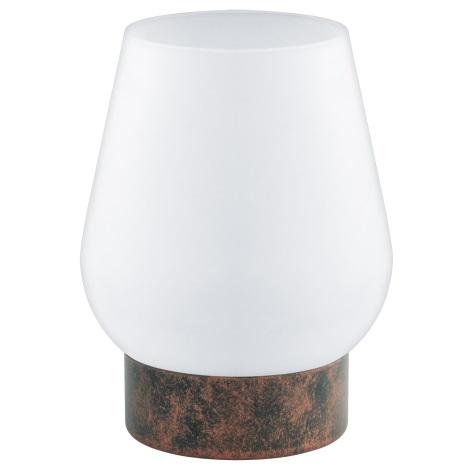 Eglo 95762 - Asztali lámpa DAMASCO 1 1xE14/60W/230V