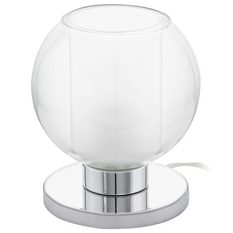 Eglo 95781 - Asztali lámpa KARLO 1 1xE27/60W/230V