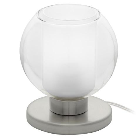 Eglo 95782 - Asztali lámpa KARLO 1 1xE27/60W/230V