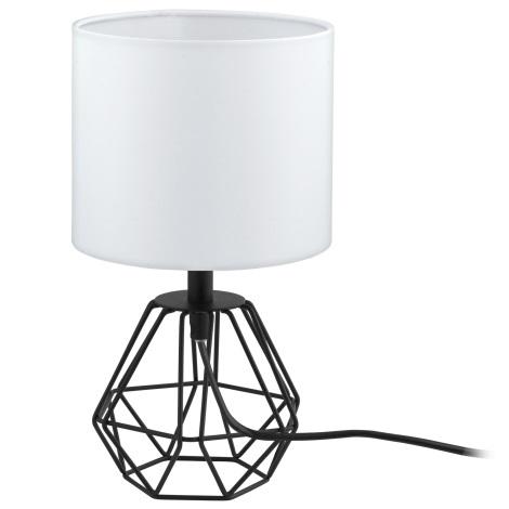 Eglo 95789- Asztali lámpa CARLTON 2 1xE14/60W/230V