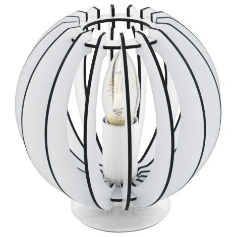 Eglo 95794 - Asztali lámpa COSSANO 1xE14/40W/230V