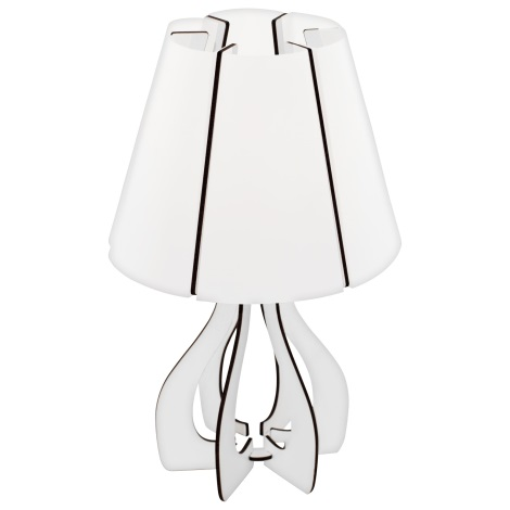 Eglo 95796 - Asztali lámpa COSSANO 1xE14/40W/230V