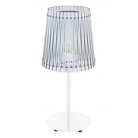 Eglo 96189 - Asztali lámpa SENDERO 1xE27/60W/230V
