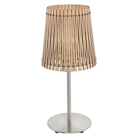 Eglo 96196 - Asztali lámpa SENDERO 1xE27/60W/230V