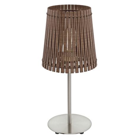 Eglo 96203 - Asztali lámpa SENDERO 1xE27/60W/230V