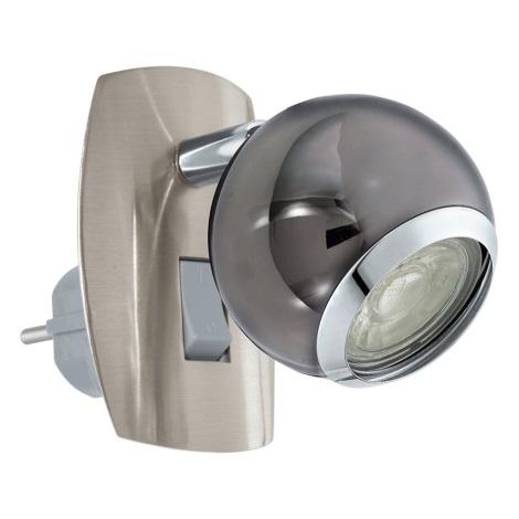 Eglo 96841 - LED Konnektoros fali lámpa BIMEDA 1xGU10/3,3W/230V szürke