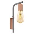 Eglo 96921 - Fali lámpa ADRI 1 1xE27/60W/230V