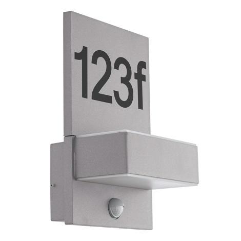 Eglo 97127 - LED érzékelős házszám ARDIANO 2xLED/5,6W/230V