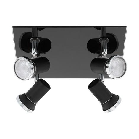 Eglo - LED Fürdőszobai spotlámpa 4xGU10/3,3W/230V IP44