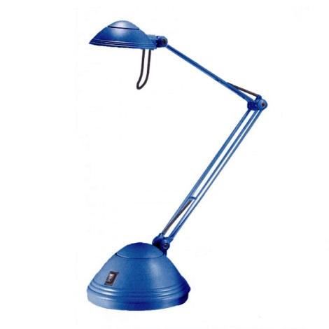 ELA halogén asztali lámpa 1xGY6,35/35-50W kék