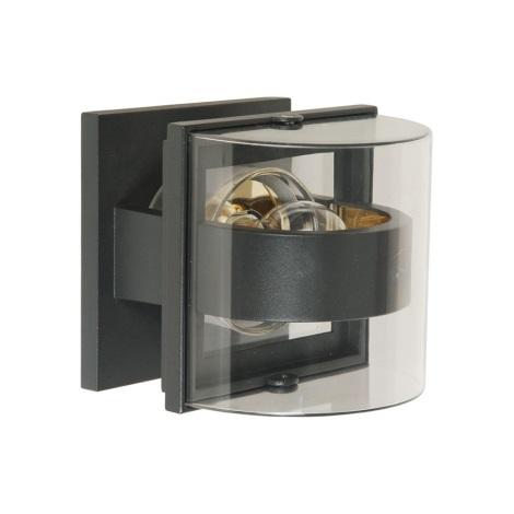 Emithor 70101 - GAMA kültéri fali lámpa 1xE27/60W szürke IP44