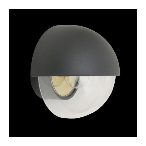 Emithor 70104 - ORIGO kültéri fali lámpa 1xE27/75W szürke IP44
