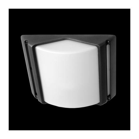 Emithor 70106 - CITY kültéri fali lámpa 1xE27/60W szürke IP44