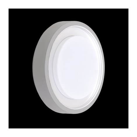 Emithor 70111 - ORIGO kültéri fali lámpa1xE27/60W ezüst IP54
