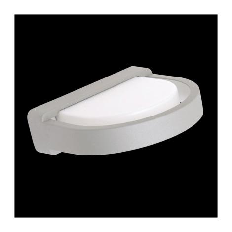 Emithor 70113 - ORIGO kültéri fali lámpa 1xE27/20W ezüst IP54