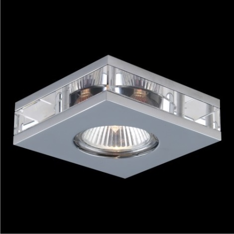 Emithor 71001 - Beépíthető lámpa 1xGU10/50W króm