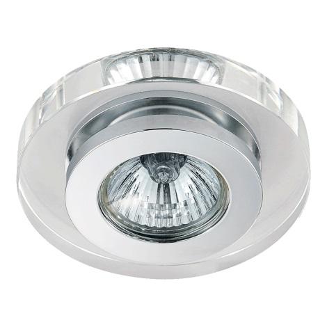 Emithor 71005 - Beépíthető lámpa 1xGU10/50W króm