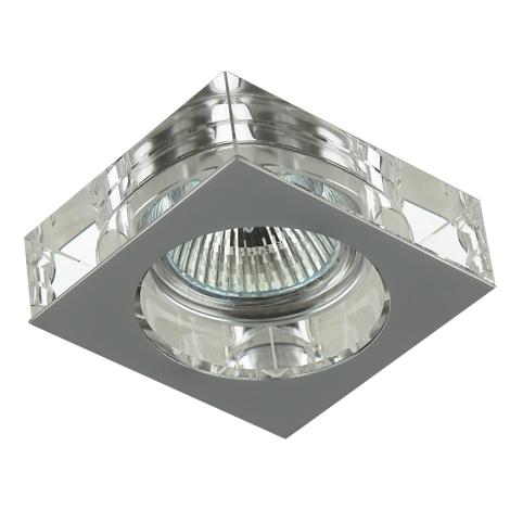 Emithor 71008 - Beépíthető lámpa 1xGU10/50W króm