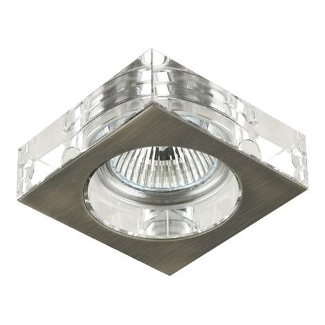 Emithor 71009 - Beépíthető lámpa 1xGU10/50W matt króm