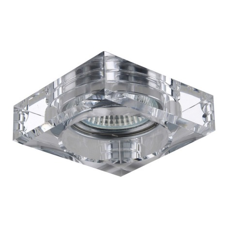 Emithor 71011 - Beépíthető lámpa 1xGU10/50W átlátszó üveg