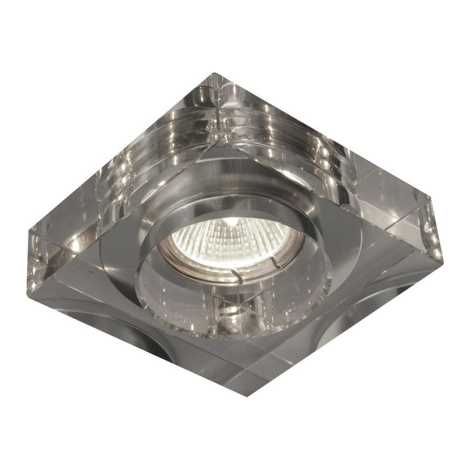Emithor 71013 - Beépíthető lámpa 1xGU10/50W átlátszó üveg