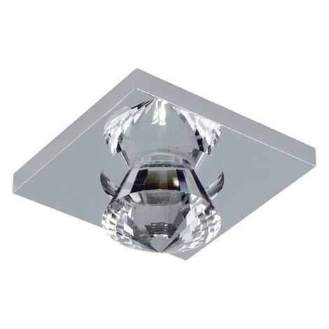 Emithor 71016 - LED-es beépíthető lámpa 1xLED/1W króm 5300K