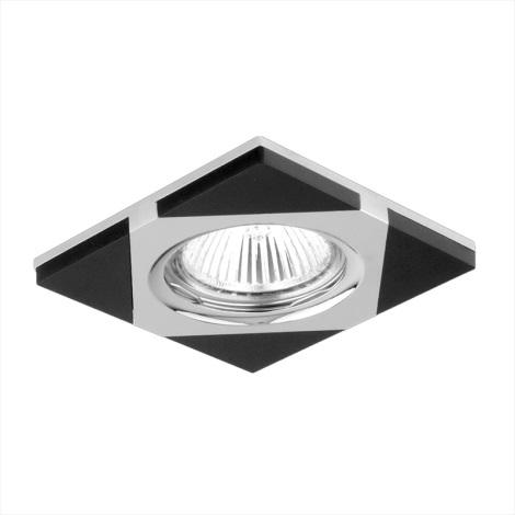 Emithor 71023 - Beépíthető lámpa 1xGU10/50W króm/wenge