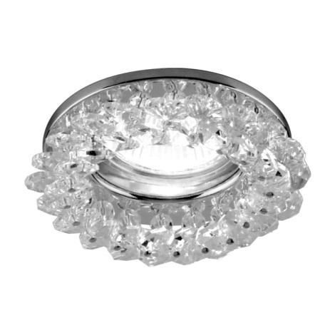 Emithor 71025 - Beépíthető lámpa 1xGU10/50W króm/kristály