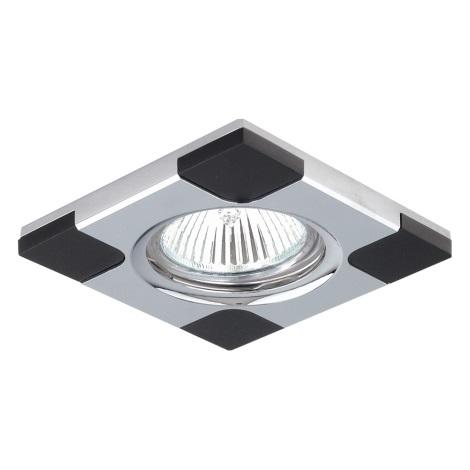 Emithor 71031 - Beépíthető lámpa 1xGU10/50W króm/wenge