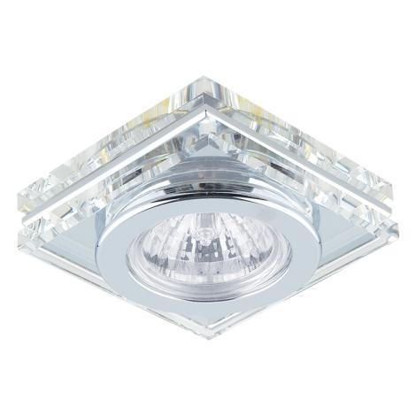 Emithor 71032 - Beépíthető lámpa 1xGU10/50W króm/kristály