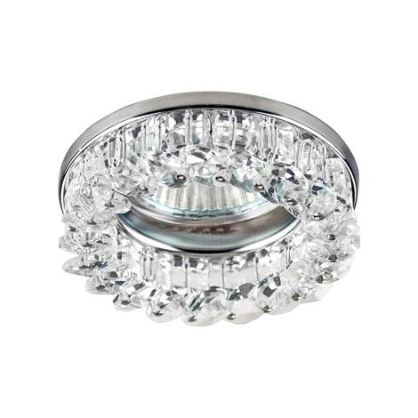 Emithor 71033 - Beépíthető lámpa 1xGU10/50W króm/kristály