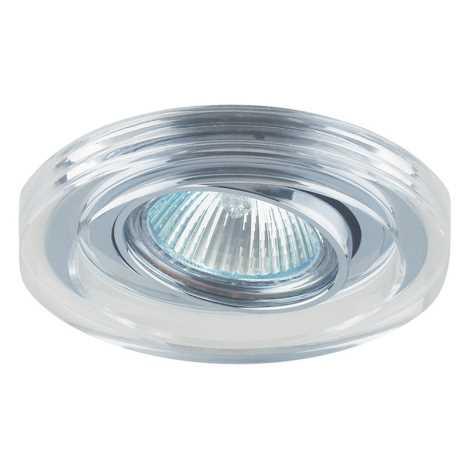 Emithor 71036 - Beépíthető lámpa 1xGU10/50W króm/kristály