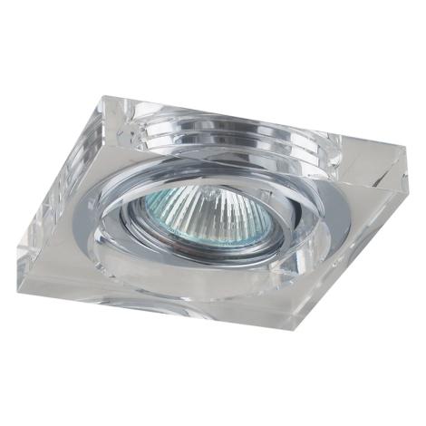 Emithor 71037 - Beépíthető lámpa 1xGU10/50W króm/kristály