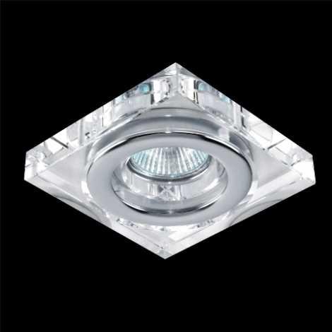 Emithor 71040 - Beépíthető lámpa 1xGU10/50W króm/kristály IP55