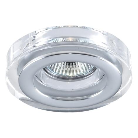 Emithor 71041 - Beépíthető lámpa 1xGU10/50W króm/kristály IP55
