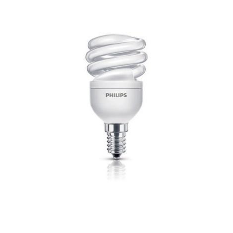 Energiatakarékos izzó E14/8W/230V PHILIPS ECONOMY TWISTER