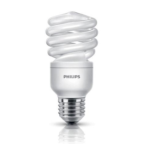 Energiatakarékos izzó E27/12W/240V PHILIPS ECONOMY TWISTER