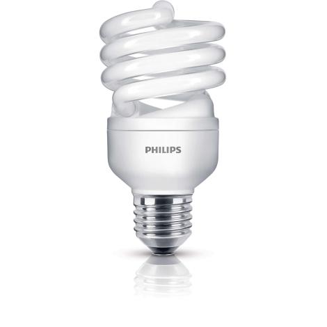 Energiatakarékos izzó  PHILIPS E27/20W/230V - ECONOMY TWISTER