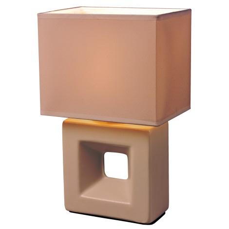 Esto 21102 - Asztali lámpa  ERICA 1xE14/25W/230V barack