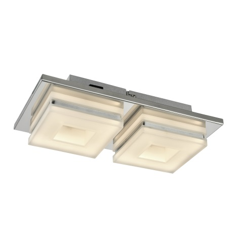 Esto 740044-2 - LED Mennyezeti lámpa DOMINO 2xLED/5W/230V