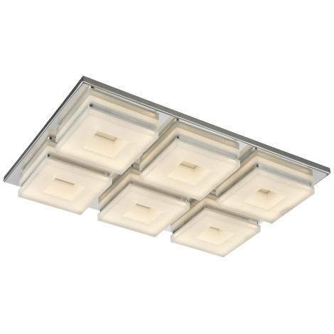 Esto 740044-6 - LED Mennyezeti lámpa DOMINO 6xLED/5W/230V