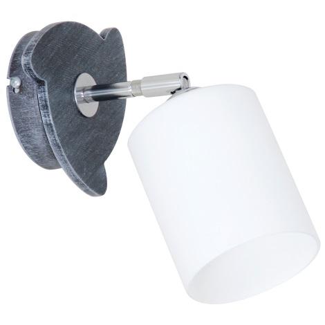 Fali lámpa  CORO GREY 1xE27/60W/230V
