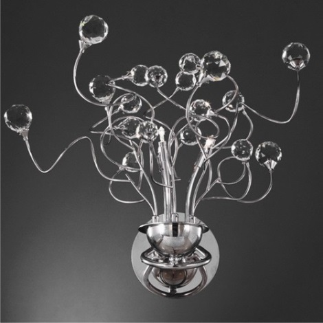 Fali lámpa CRYSTAL