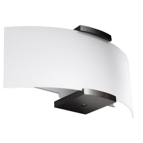 Fali lámpa EMILIO 2xE14/40W/230V fehér/wenge