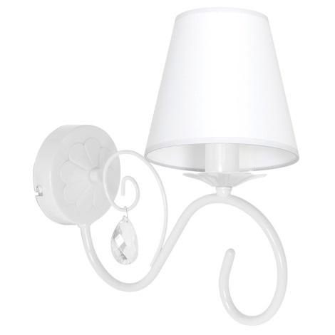 Fali lámpa LAURA 1xE14/60W/230V fehér